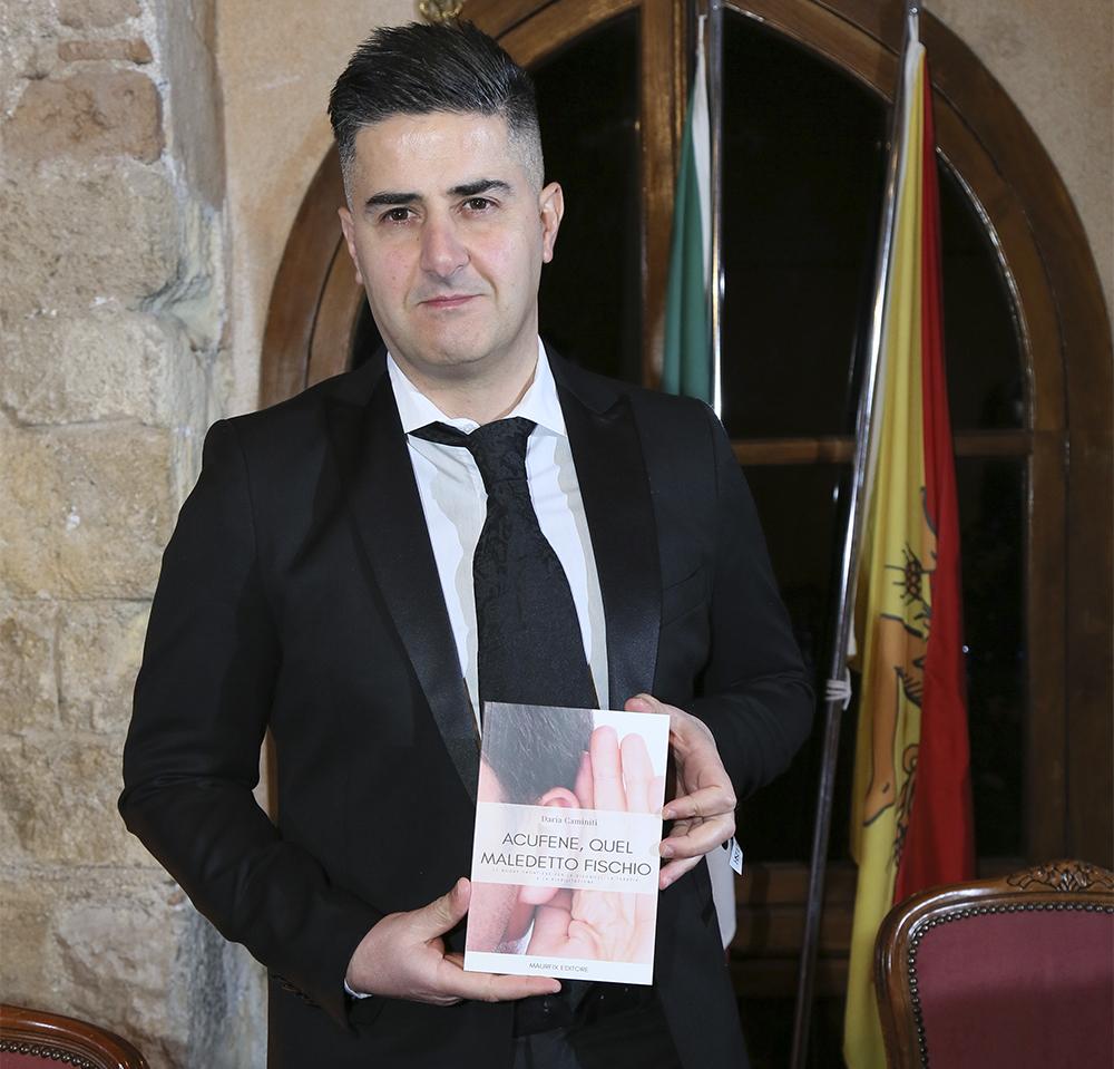 Gianluca Barca coautore libro Acufene