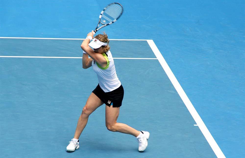 Distorsione caviglia tennista